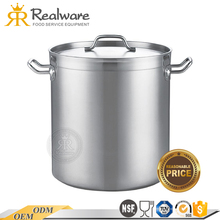 Stand Up induction stainless steel cookware set high quality stock pot with wholesale price