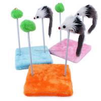 wholesale New Cat Toy Mouse Ball Cat Teaser Stick Toy