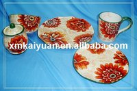 ceramic hand-paint dinnerware/spring decoration(113-086)