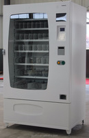 Cell phone accessories vending machine with online management system card reader