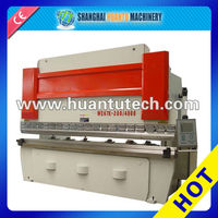 WC67Y Manual Sheet Metal Press Brake , Press Brake with optional bending machine controller , Automatic folding machine