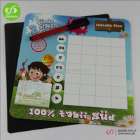 Factory produce promotion gift magnet memo boards/refrigerator magnet board