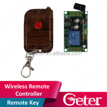 wireless Remote Control - Access control system