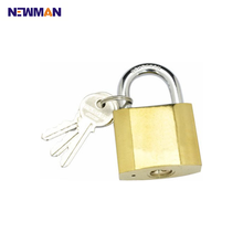 Small Wholesale Safe Security Brass Padlock With Master Key