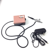 Multi function mini makeup air hose <strong>airbrush</strong> dual power makeup compressor spray kit