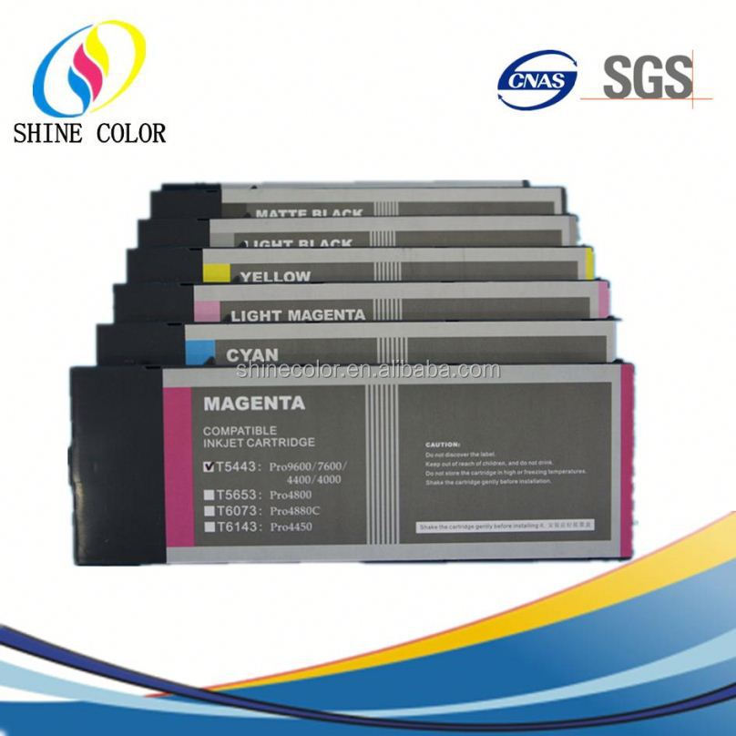High quality water based pigment ink for Epson 4000 7600 9600 9800