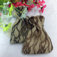 Lace style linen aroma sachet, scented sachet with good smell