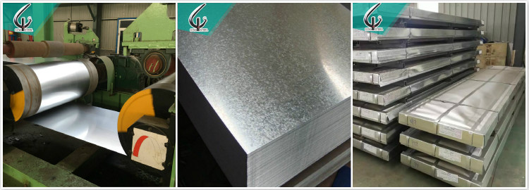 Regular spangle cold rolled hot dipped mild galvanized 4x8 sheet metal prices