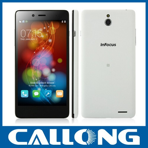 "China brand 5.0"" infocus M512 quad core 1.2GHz snapdragon MSM8926 , android 4.4 1gb +4gb dual camera android phone 4G LTE"
