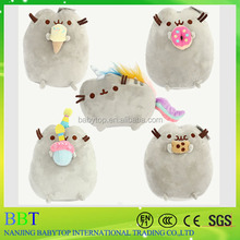 Cartoon Soft Pusheen Cat Cushion Plush Toys As Gift For Children Animal Cat Rainbow Cute Toys