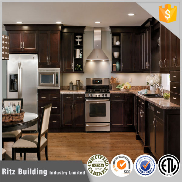 Ritz Wholesale Home Kitchen Cabinet Custom Made Design ...