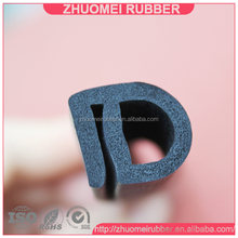 closed cell soft rubber seal strip