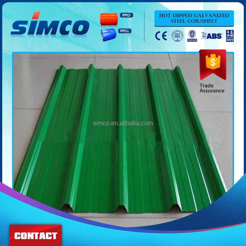 Hot Dip Zinc Coated Steel Strip Corrugated galvanized zinc roof sheets/cheap roofing materials
