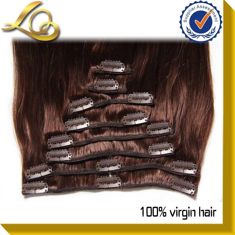 youtube thick unprocessed virgin cheap brazilian human hair clip in hair extension
