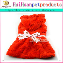 Dog fake fur clothes dog pet