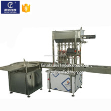 Trade assurance customized linear automatic tomato sauce/cheese bottle filling capping machine with CE standard