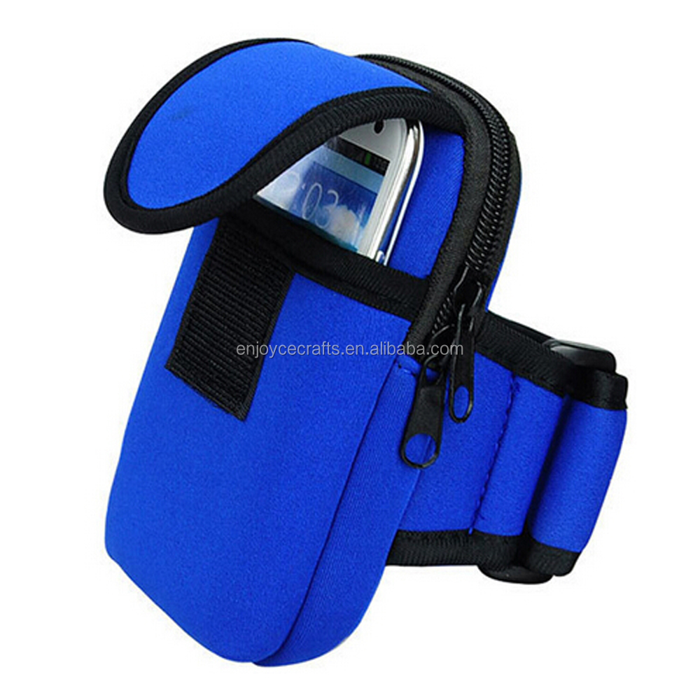 colorful outside sport arm band running arm bag