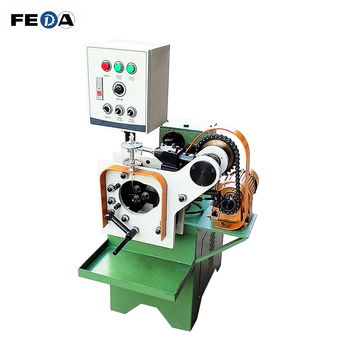 Full thread three roll thread rolling machine hollow pipe thread making machine price