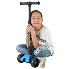 2017 Hot Selling New Four Wheel Wide Deck Kids Bike Kick Scooter
