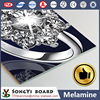 Diamonds Design melamine paper coated mdf/chipboard particle board