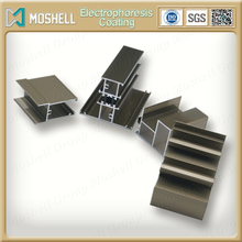 Price electrophoresis coating type of aluminum profile for windows