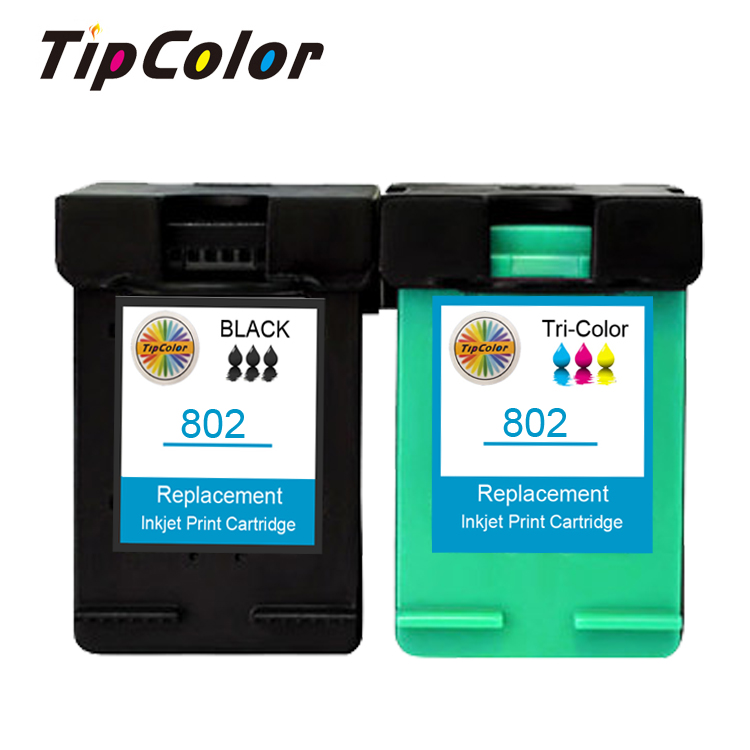Compatible HP Deskjet 1000 1050 2000 2050 802 Ink cartridge