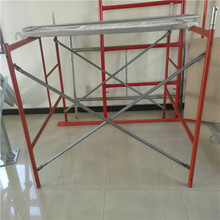 Good Price Masonry Construction Used German Scaffold Go Through Ladder Gate Type Frame Scaffolding System