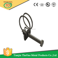 hydraulic hose clamp machine and double wire hose clamp material galvanized steel and stainless steel