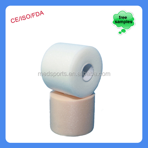 First-Aid Polyurethane Breathable Porous PU Foam Tape