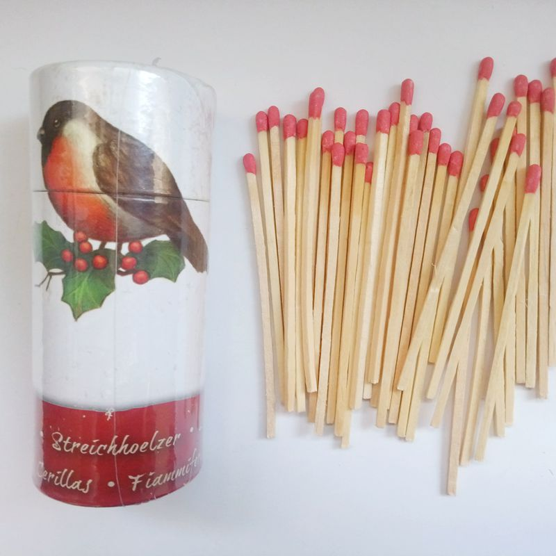 Waxed Wood Fire Starter Sticks-Necessary Accessory of Grill Stoves,Camping