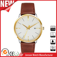 Japan movt quartz watch stainless steel back watches ladies wristwatch