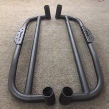 Made in China 18.8kg steel side step bar running board accessories 4x4 for suzuki jimny parts