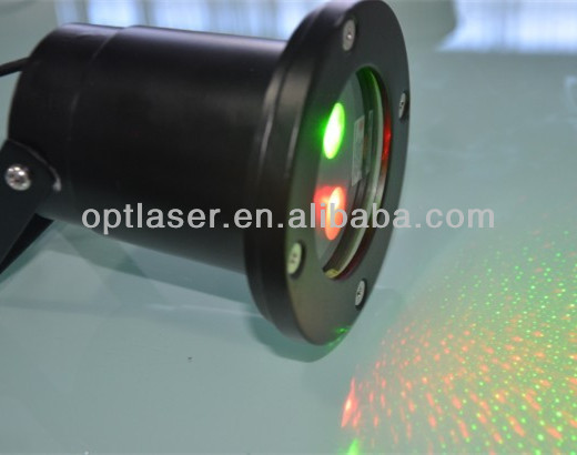 Two Color Laser Light Projector