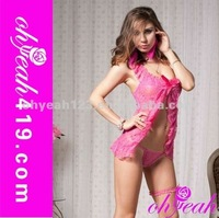 quality sexy latex baby doll sexy female nighty