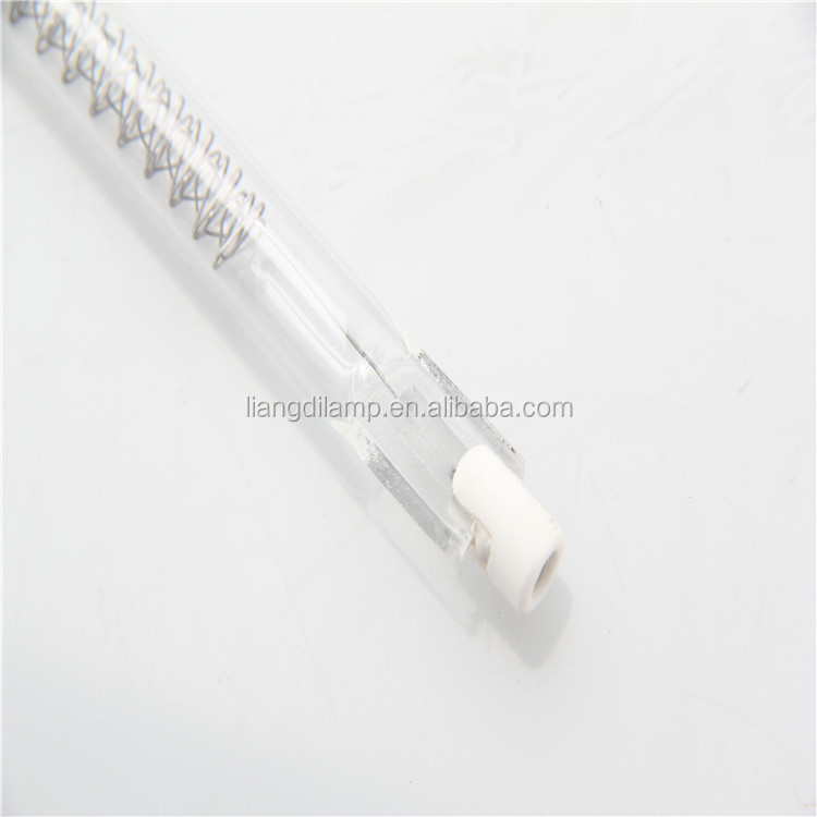 infrared heat lamp for paint drying element glass tube
