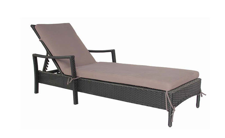 Hot sale outdoor luxury wicker daybed