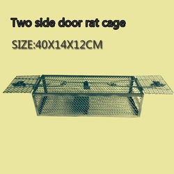 Cheapest double Steel Mouse Trap Cage cheap Rat cage FACTORY PRICE Patent holder