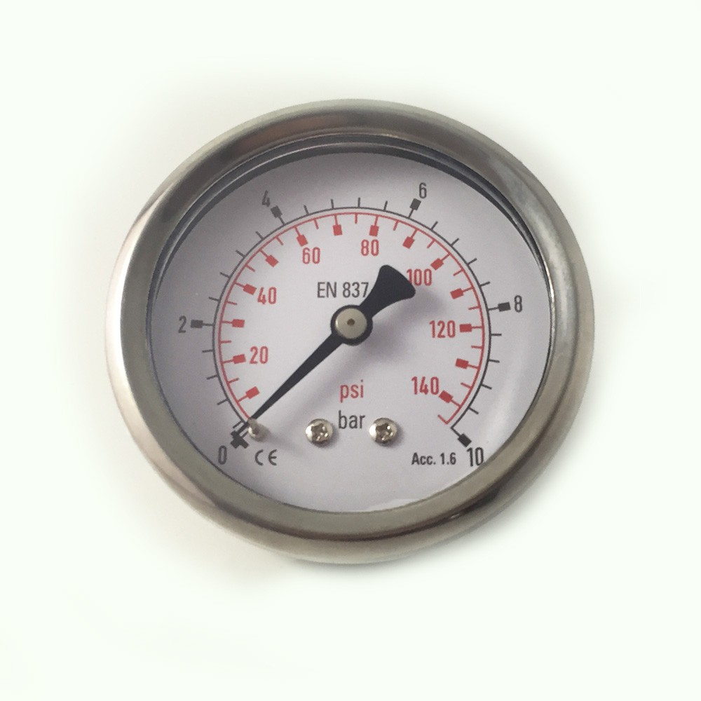 "2.5"" WIKA Type Bourden tube back connected Pressure Gauge"