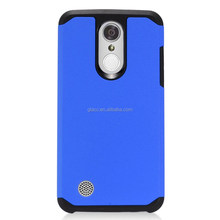 Factory directly for LG Aristo/LV3/MS210 case slim shockproof Dual Layer hard back cover case
