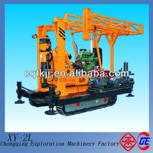 2014 Hot Sale High Efficience Base Support XY-2L Mini Water Well Drilling Rig