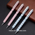 Pen factory price custom full printing metal twist ballpoint pen