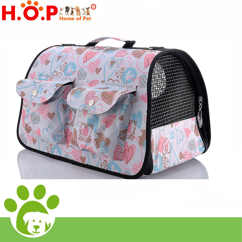 Lovoyager Fashion Hot Selling Airline Plastic Pet Carrier Bag Factory/Dog Cage for Car