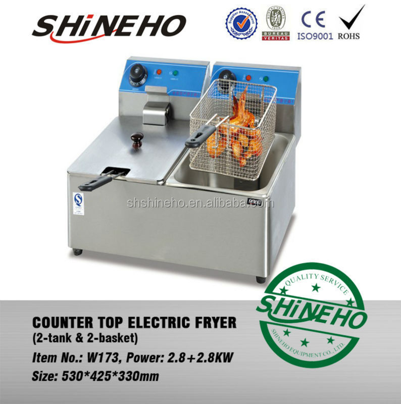 chicken shawarma machine/deep fryer for fried chicken/broaster chicken fryer