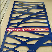 architectural metal screen/Laser cut privacy screens/External decorative screen