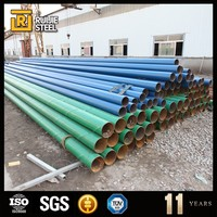 anti corrosion pipeline for building used construction material, epoxy coal bitumen carbon steel line pipe