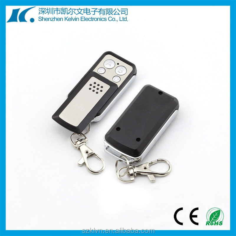 Long Sliding Cover Metal Shell Clone Remote Control 4-channel Universal RF Wireless Duplicator 433.92mhz (KL180E-4K)