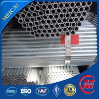 galvanized steel water pipe specification in Tianjin