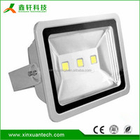 Aluminum material 150 watt bridgelux chip Ip65 waterproof 150w led flood light for outdoor use