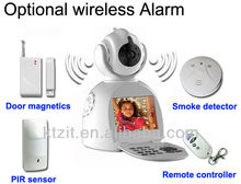 Home Office Security Video Phone Camera with Door Magnetics / Smoke Detector