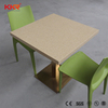 Custom new style solid surface 6 seater dining table set